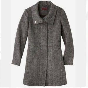 Merona Herringbone Coat XXL